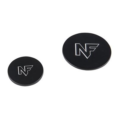 Metal Lens Cap For Competition Models - Metal Lens Caps For Competition Models - Black (Set)