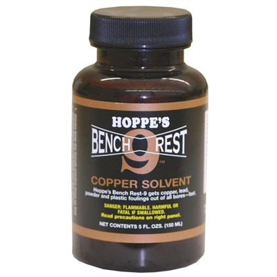 Bench Rest-9 Copper Solvent - Hoppe's 5 Oz. Benchrest-9