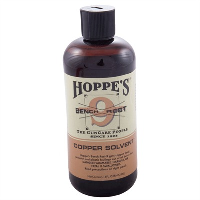 Bench Rest-9 Copper Solvent - Hoppe's 16 Oz. Benchrest-9