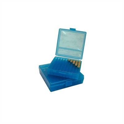 Pistol Ammo Boxes - Ammo Boxes Pistol Blue 44mag 100
