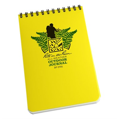 All-Weather Outdoor Journals & Writing Pens - Rite In The Rain All-Weather Outdoor Journal - 4'''' X