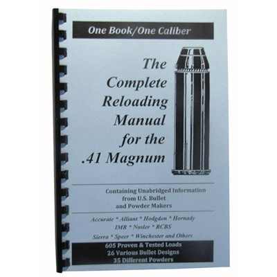 Loadbook Reloading Manual - Loadbook Reloading Manual/41 Magnum