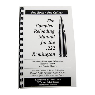 Loadbook Reloading Manual - Loadbook Reloading Manual/222 Rem