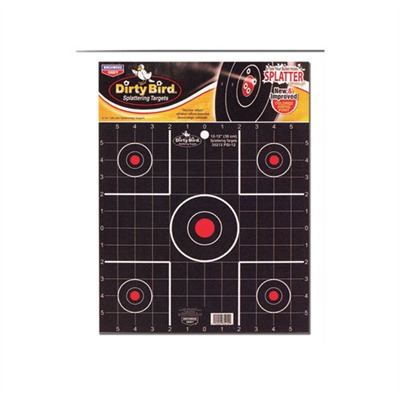 ''''dirty Bird'''' Targets - Dirty Bird 2'''' Sight-In Target 12 Pk