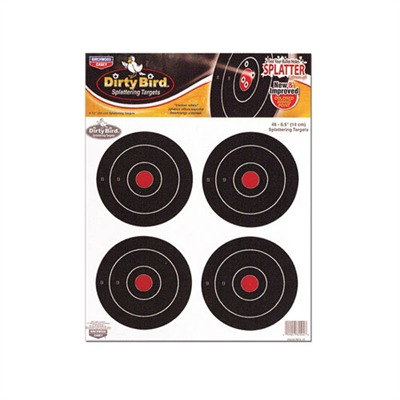 ''''dirty Bird'''' Targets - Dirty Bird 5.5'''' Targets  12 Pk