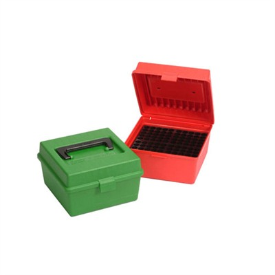Rifle Ammo Boxes - Ammo Boxes Rifle Red 7mm Rum- 375 Rum 100