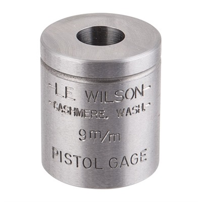 Wilson Pistol Max Case Gages - Pistol Max Gage 9mm Luger
