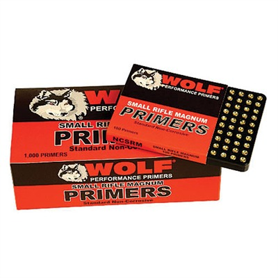 Pistol Primers - Wolf Small Pistol Magnum Primers - 1000