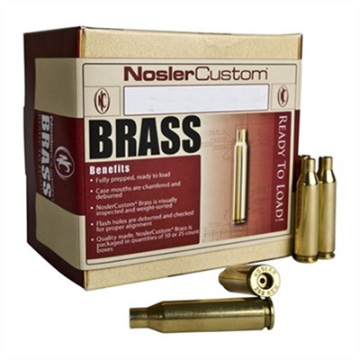 Nosler Brass - 6.5mm/284 Norma Brass 50/Box