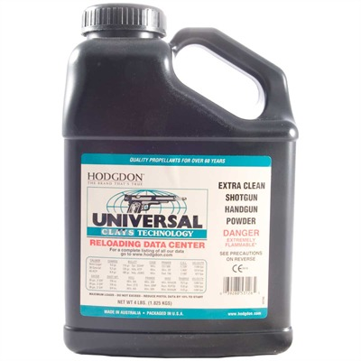 Hodgdon Universal Clays Powder 4 Lbs Model 749006947-749006947-5547 U.S.A. & Canada