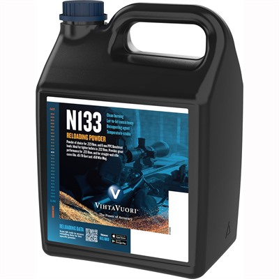 N133 Powder - Vihtavouri N133 Powder - 8 Lbs