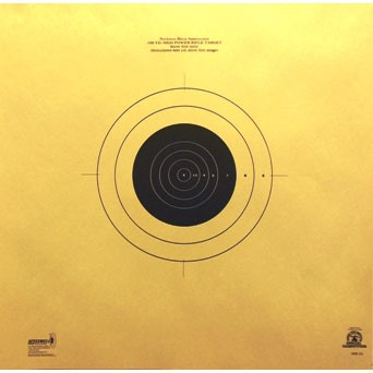Rockwood Benchrest Targets - 600 Yard Reduced Target - 25 Pack