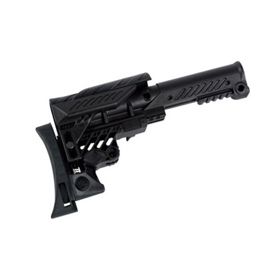 Command Arms Caa Sniper Stock For Ar-15 - Command Arms Sniper Stock For A2 Rifle W/Rear Monopod