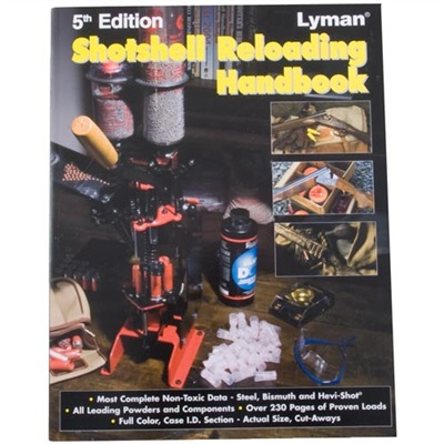 Shotshell Reloading Manual-5th Edition - Lyman Shot Shell Reloading Book 5th Ed.
