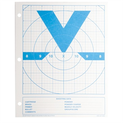Mt. Plains Victory Rifle & Handgun Targets - Mt. Plains  8 1/2''''  X 11 -  Victory Target