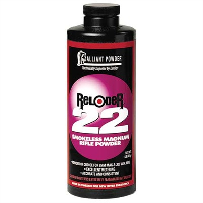 Reloader 22 Powder Reloder 22 Powder 1 Lb Model 749011430-749011430-5547 U.S.A. & Canada