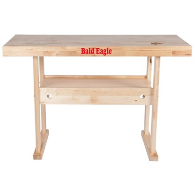 Bald Eagle Precision Products Work Bench - Hardwood Reloading/Work Bench