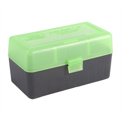 Rifle Ammo Boxes - Ammo Boxes Rifle Green & Black 220 Swift-338 Federal 50