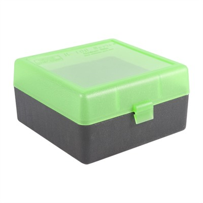 Rifle Ammo Boxes - Ammo Boxes Rifle Green/Black 223 Rem- 308 Winchester 100