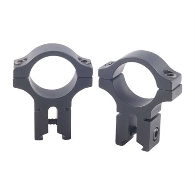 200 Seroes 1'''' Scope Rings - 1'''' High Dovetail Rings, Black