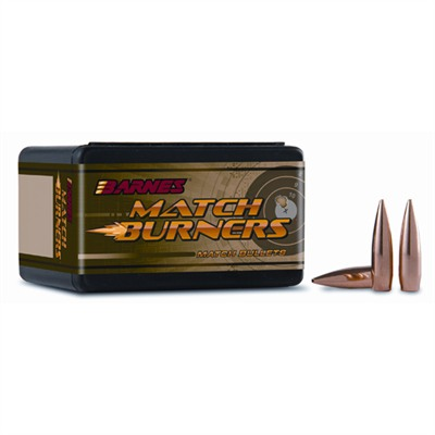 Barnes Match Burner Bullets - 22 Cal .224 69 Gr Bt Match 100/Box