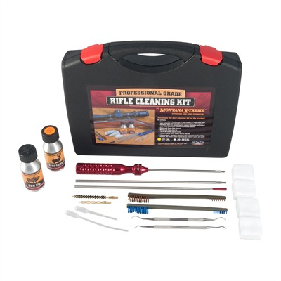 Montana X-Treme Professional Grade Cleaning Kits - .22-.264 Caliber Rifle Cleaning Kit
