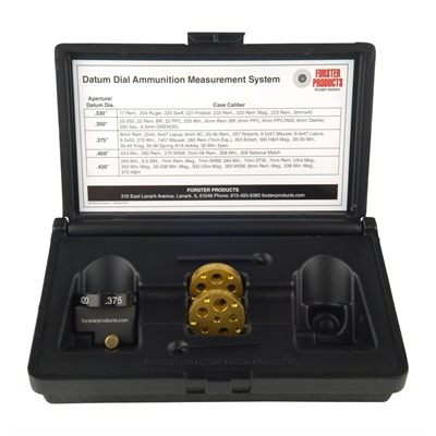Forster Datum Dial Ammunition Measurement System - Datum Dial, Kit
