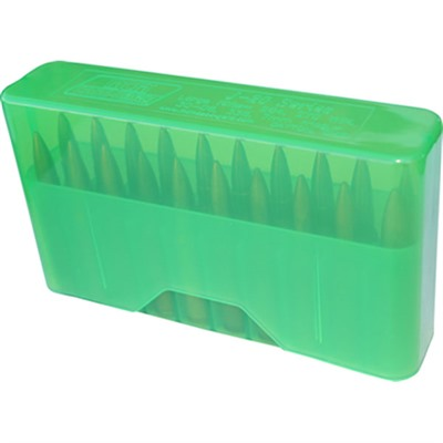 Rifle Slip Top Ammo Boxes - Slip Top Ammo Boxes Rifle Green 22-7.62 X 39mm 20