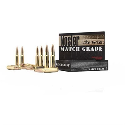 Match Grade Rifle Ammo - 300 Aac Blackout 220gr Custom Competition 20/Box