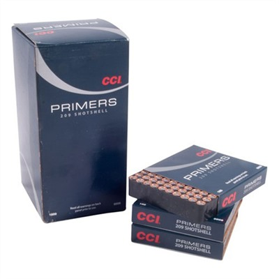 Cci Shotshell Primers - 209 Shotshell Primers 5,000/Case