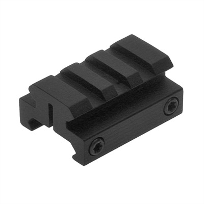 Ar Mount One-Half Inch Picatinny Riser - Matte - Picatinny Riser Mount 1/2   Matte