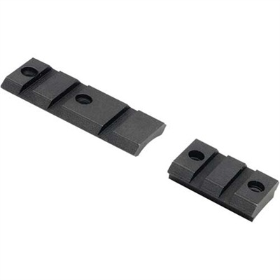 Xtb Weaver-Style Solid Steel Bases - Xtreme Tactical 2-Piece Base Browning A-Bolt Wssm
