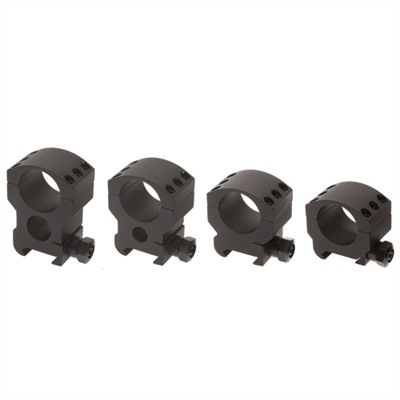 Xtr Xtreme Tactical Rings - 30mm High Matte Tactical Rings