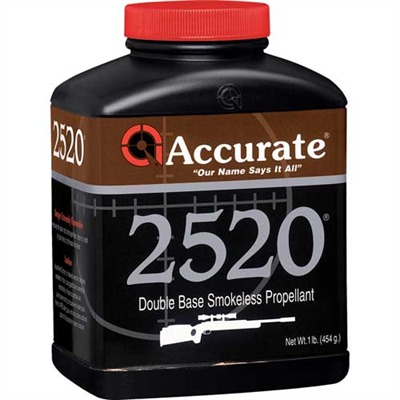 Accurate 2520 Powders Accurate 2520 1 Lb Model 749101696-749101696-5547 U.S.A. & Canada