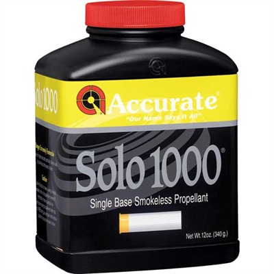 Accurate Solo 1000 Powders Solo 1000 12 Oz Model 749101717-749101717-5547 U.S.A. & Canada