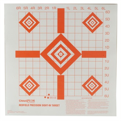 Sight-In Target - Redfield Sight-In Targets, 100