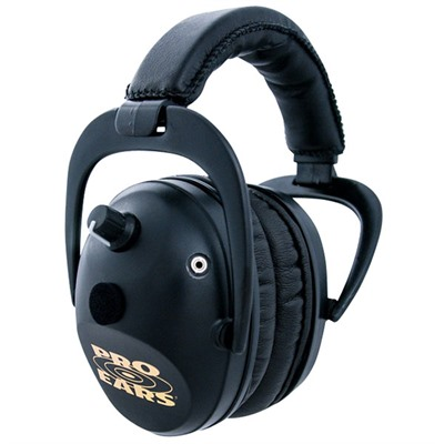 Predator Gold Headsets - Predator Gold Nrr 26 Black