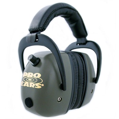 Gold Headsets - Pro Mag Gold Nrr 30 Green