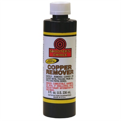 Copper Remover - 8 Oz. Shooters Choice Copper Remover